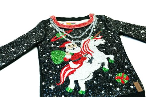 you can t afford this ugly christmas jumper thank santa