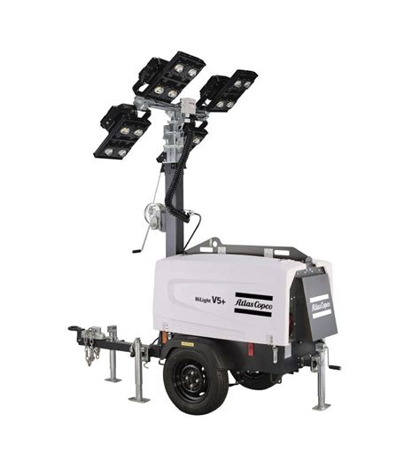 Ultimate Solar Panel by Rock Drill Sales Atlas Copco Portable Light Towers