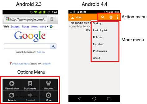 android menu layout tutorial let s create the screen android ui layout and controls
