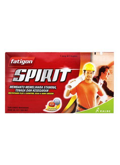 Suplemen Makanan L fatigon spirit suplemen penambah tenaga 5 s str