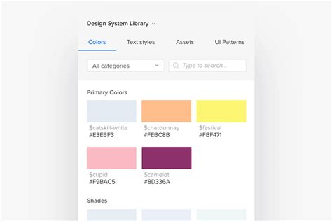 uxpin pattern library design systems by uxpin