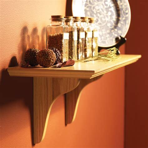 Wall Mounted Wooden Shelf by Wood Wall Mount Shelf Kit In Wall Mounted Shelves