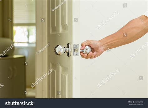 How To Open A Door Knob by Open Door Knob Stock Photo 133893713