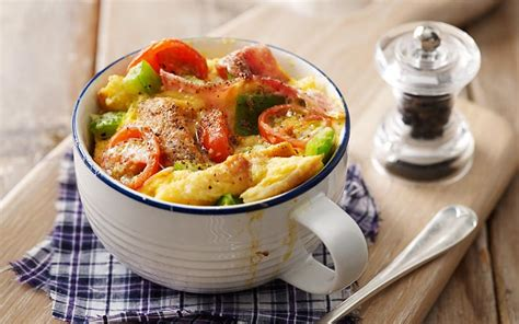 microwave quiche in a cup recipe sainsbury s