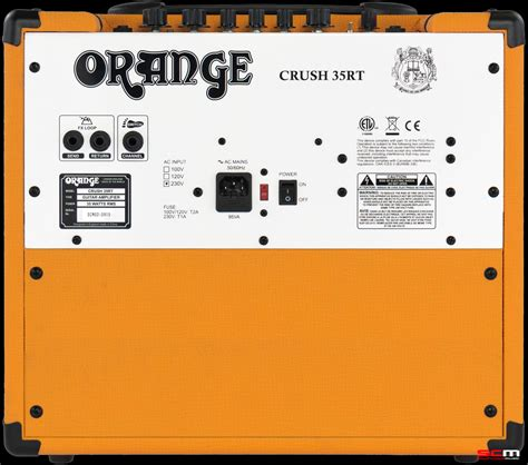 Orange Guitar Lifier Crush 12 orange crush 35 rt combo lifier south coast