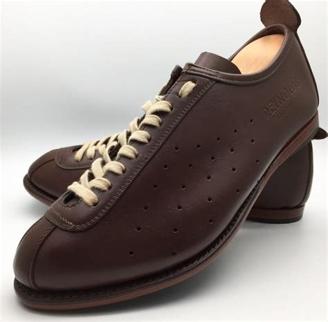leather bike shoes ralph goodyear welted cycling shoe in brown leather with