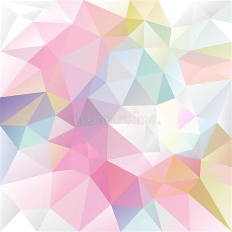 polygonal light pink pattern background illustrator vector irregular polygon background with a triangle