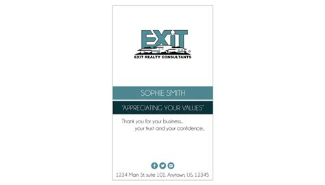 Exit Realty Business Cards Template Exit Realty Business Card 30 Exit Realty Business Card Template 30