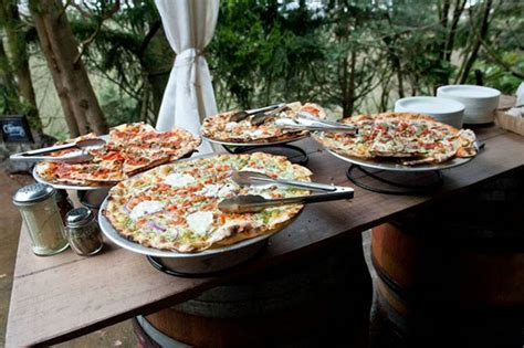 Table Pizza Bar by Gourmet Pizza Bars B Lovely Events