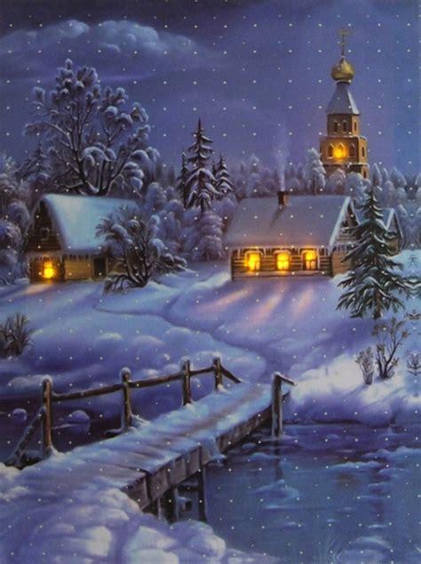 Weihnachtsdeko Fenster Mit Strom by Led Fensterbild Wandbild Bild Leinwand Weihnachten Ebay