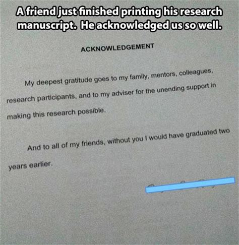 Thesis Acknowledgement Funny | exle acknowledgement dissertation write my essay canada