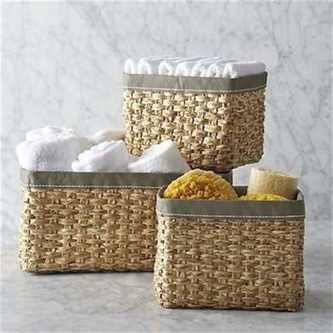 small storage baskets for bathroom storage baskets small bathroom ideas 20 ways to make