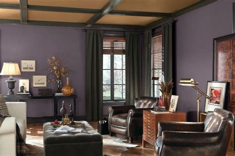color of the year 2014 den traditional living room other metro by sherwin williams