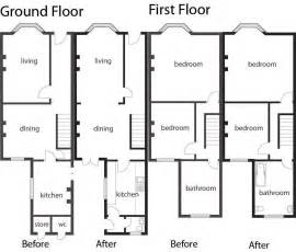 terraced house floor plan the world s catalog of ideas
