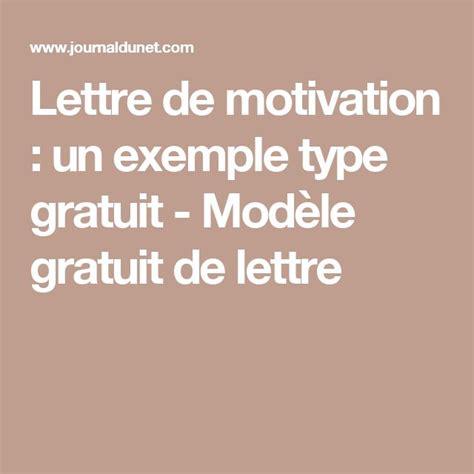 Les 25 Meilleures Id 233 Es De La Cat 233 Gorie Exemple Lettre Motivation Sur Lettre De