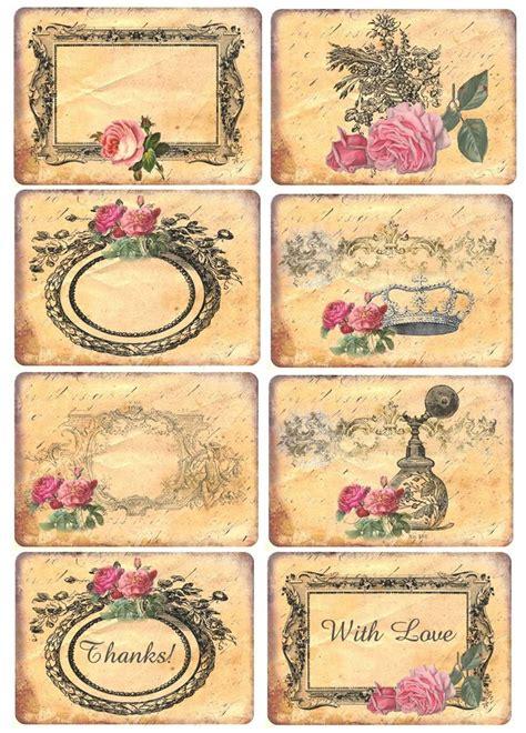 printable vintage labels pinterest mi baul del decoupage flores para la melancolia