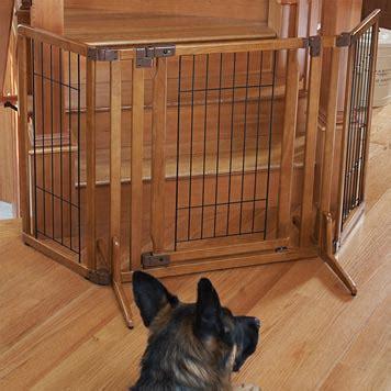 gate with cat door wooden gate free standing gate with door orvis uk