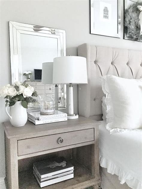 best 25 white room decor ideas on pinterest white rooms nightstand decor ideas best 25 bedside table decor ideas