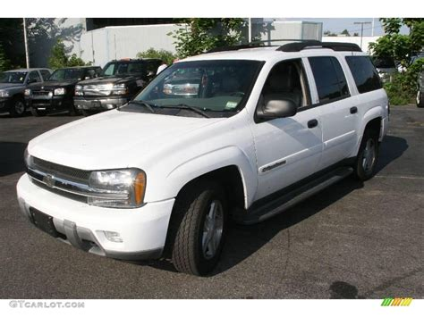 chevrolet trailblazer white 2003 summit white chevrolet trailblazer ext lt 4x4