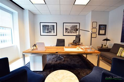 Great Home Interiors by A Modern Law Office Nicole Lanteri Interior Decorator