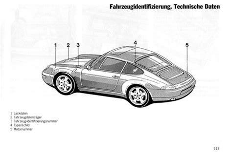 Porsche 911 Motornummer by Fahrgestellnummer Porsche 911 Automobil Bildidee