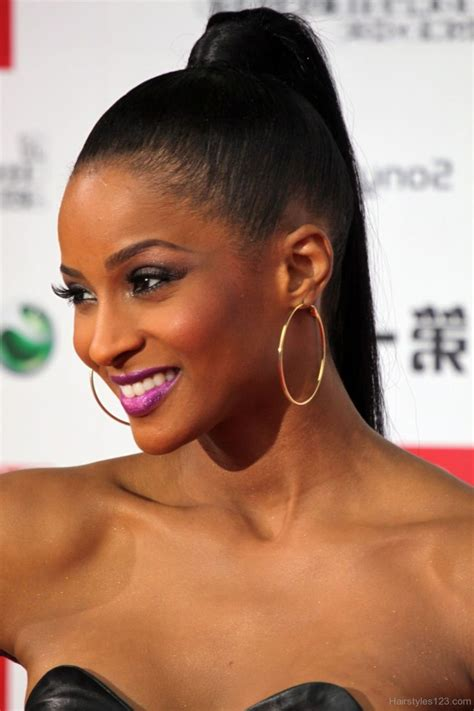Black Hairstyles Ponytail by Black Ponytail Hairstyles