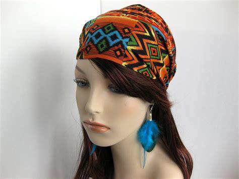 tsiyeel womans hairstyle navajo hair navajo bandana women s hair head wrap multi