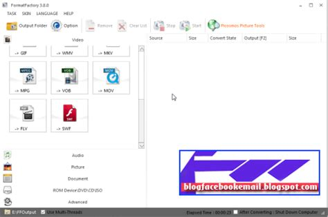 format factory full terbaru download format factory video converter full gratis