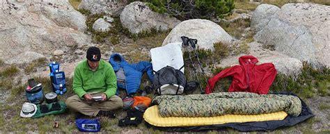 hiking gear 9 pound comfort lightweight backpacking gear checklist adventure alan