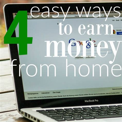 Easy Ways Of Making Money Online - 4 easy ways to get make money online