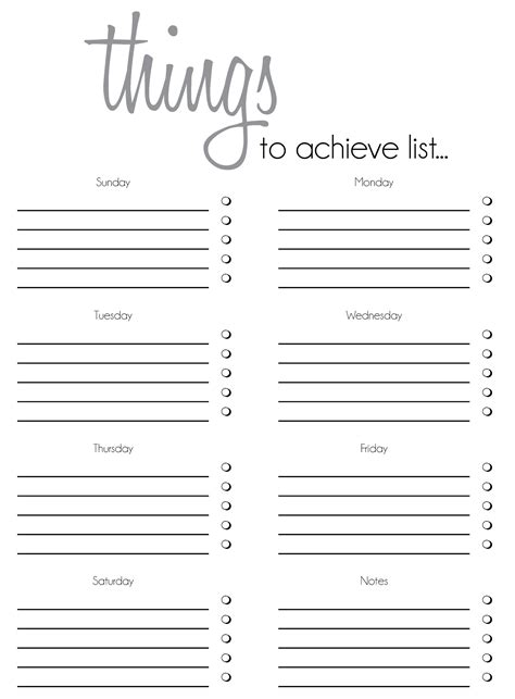 the power of to do lists