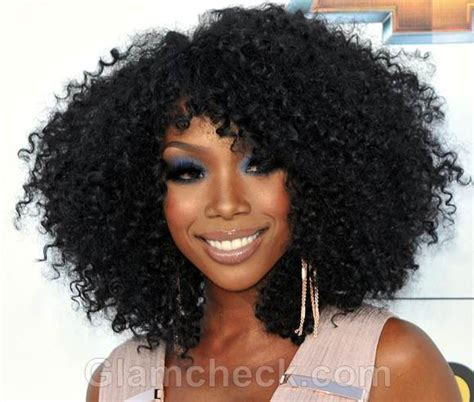 Brandy Norwood Hairstyles | celebrity curly hairstyles at 2012 billboard music awards