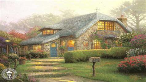 who is the painter of light yağlı boya resim cottage collection kinkade