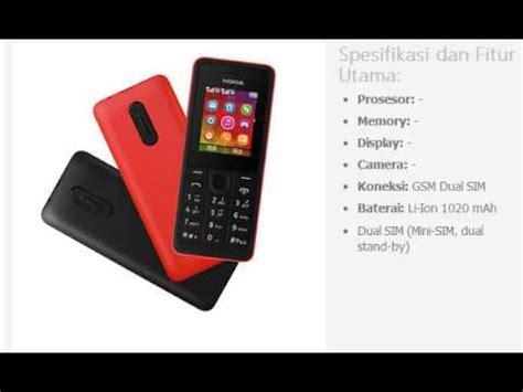 Hp Nokia 105 Dan 107 harga hp nokia 107 dual sim
