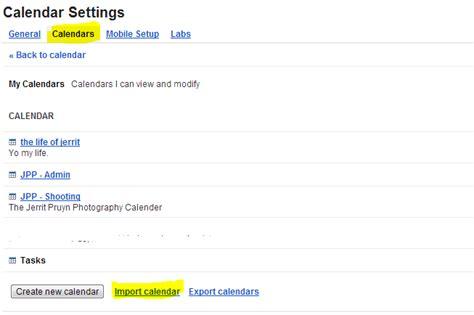 Csv Template For Google Calendar