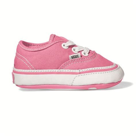 Baby Vans Crib Shoes by Vans Infant Authentic Crib Shoes Pink Alans Bmx