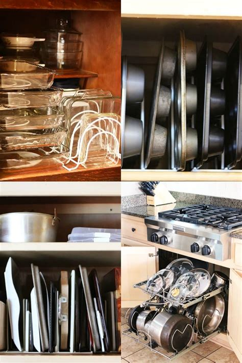 kitchen cabinet organizers for pots and pans ktichen cabinet pots and pans organization collage kevin amanda