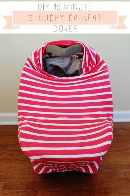 diy car seat cover 10 minute diy slouchy car seat cover tutorial baby