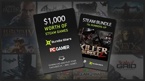 Pcgamer Giveaway - menangkan game seharga us 1000 dari pc gamer dan bundle star pemmzchannel