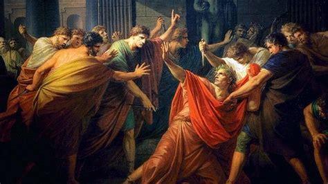 el complot contra los la verdadera muerte de julio c 233 sar 23 cortes y dos asesinos heridos