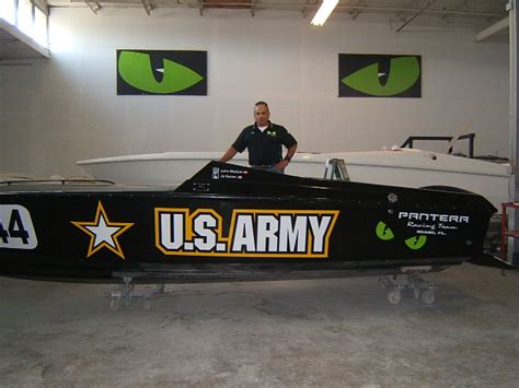 pantera boat company pantera is proud to join forces with the u s army in