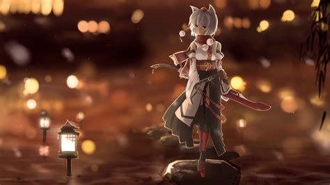 touhou fox girl anime  wallpaper hd youtube