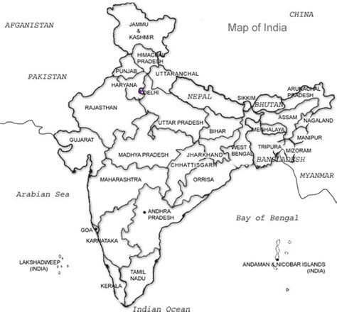 India River Map Outline Plain by Blank Map Of Indus River And India Christa S Bibles 4 India India Rivers