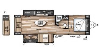 wildwood trailers floor plans 2017 forest river wildwood 27rei floor plan travel trailer