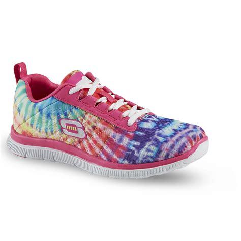 skech knit skechers skechers s skech knit rainbow tie dye athletic shoe