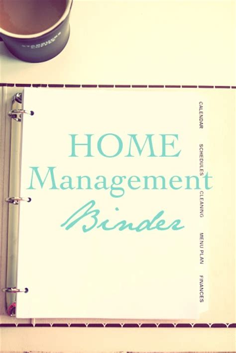 home management binder and printables awesome ideas