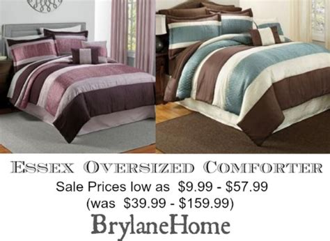 Oversized King Comforter Sale by Essex Oversized Comforter Review On Sale At Brylanehome