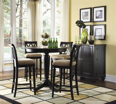Dining Room Classy Pedestal Table Dining Table Design | kitchen awesome small dining room decoration using round