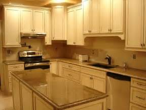 Cream Kitchen Cabinets Cream Cabinets With Brown Countertops Plan Kitchen