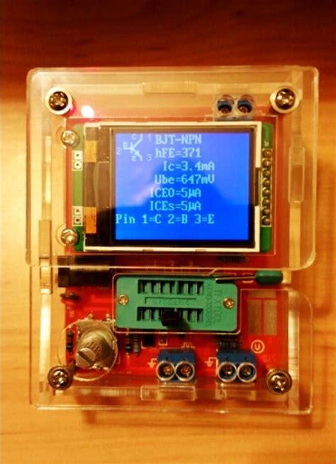npn transistor multimeter 2016 transistor tester tft diode triode capacitance meter lcr esr npn pnp mosfet ebay